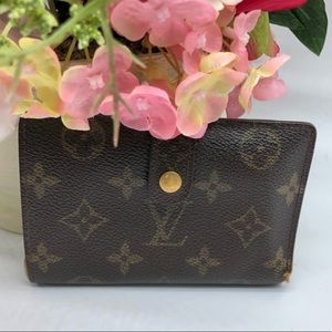 💯 authentic Louis Vuitton French purse wallet